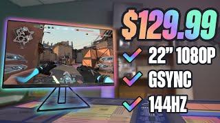 Top 4 GAMING Monitors Under $150