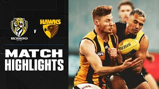 Richmond V Hawthorn Highlights | Round 3, 2020 | Afl