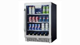 Danby Silhouette 5.3 Cu. Ft. Beverage Center- DBC162BLSST Thumbnail