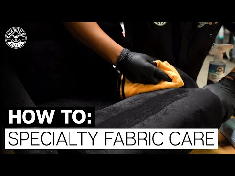 How To Care For Suede & Alcantara Upholstery! - Chemical Guys