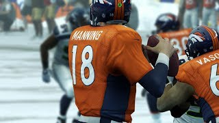 Madden 25 Online Highlight Reel #10 - Winter Wonderland Edition | Manning Throws TDs in the Snow