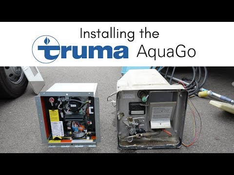 Installing the Truma AquaGo On Demand Water Heater in our RV