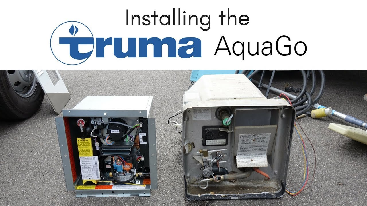 Installing The Truma Aquago On Demand Water Heater In Our