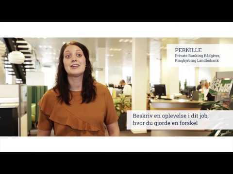 Pernille, Privat Banking Rådgiver, Ringkjøbing Landbobank