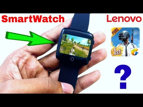 New Lenovo Smartwatch in Cheap Price | Can We Play PUBG Mobile in This SmartWatch?