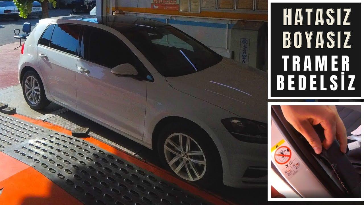 Hatasız Boyasız Alınan Volkswagen Golf Airbag Tamirli Kemer Dirençli Çıkınca Galeri İade Aldı