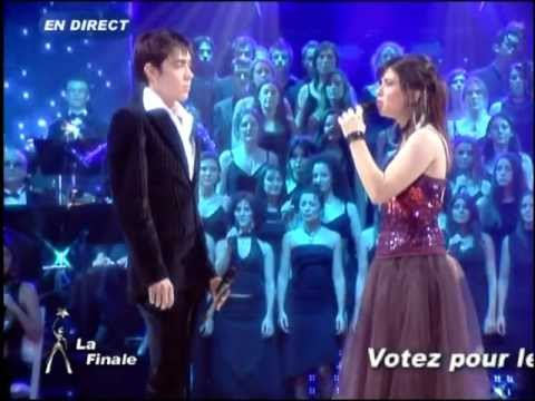 Star Academy 4 - Lucie et Grégory Lemarchal - Chanter