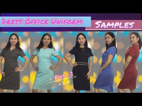 Dress Office Uniform   Latest Design   Office Uniform For Women   Part2
