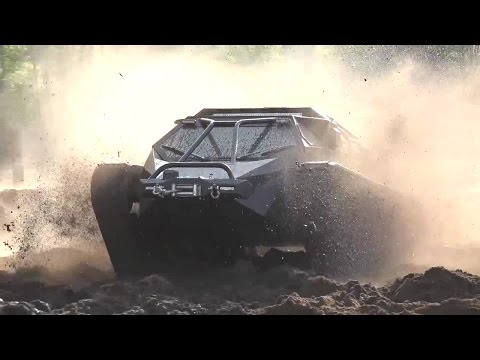 Howe & Howe Technologies - Ripsaw EV2 Super Tank Extreme Offroad Testing [720p]