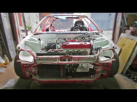 Ремонт кузова Honda Civic EG.(Часть 3)