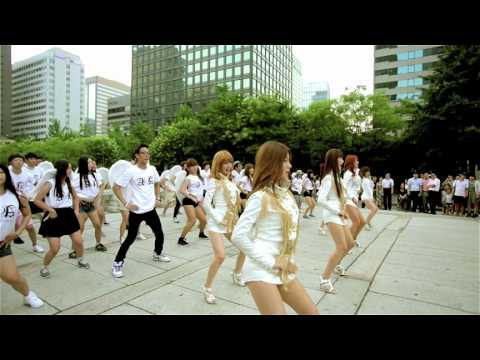 AOA - ELVIS FLASH MOB EVENT