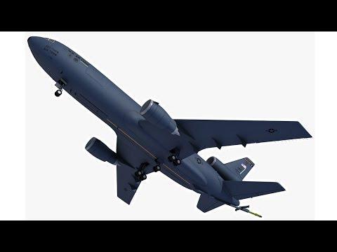 McDonnell Douglas KC-10 Extender Refueling Aircraft 3D Model