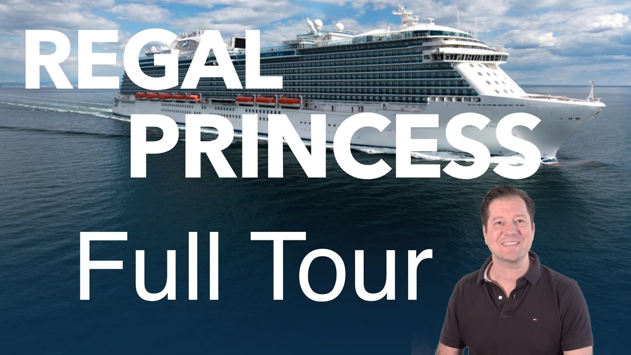 Regal Princess Review Full Walkthrough Cruise Ship Tour