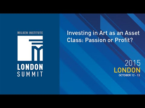 London Summit 2015 - Investing in Art as an Asset Class: Passion or Profit? (I)