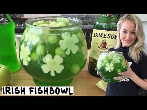 Irish Fishbowl - Tipsy Bartender