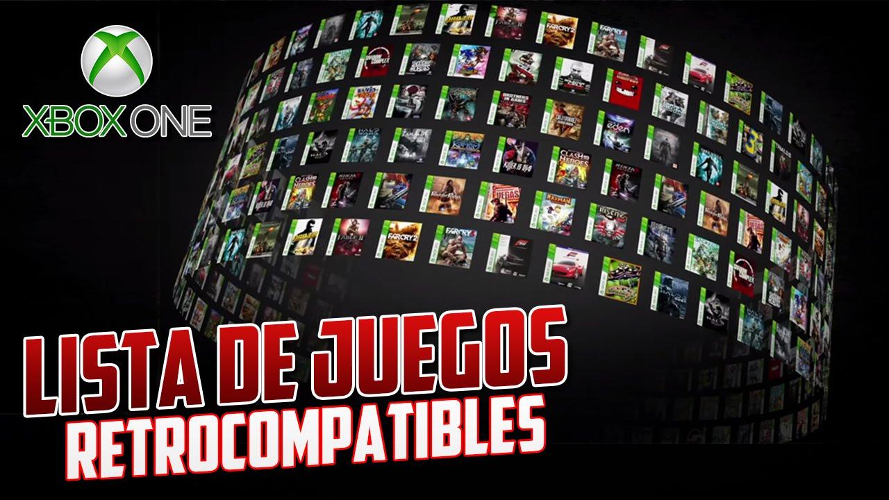 Xbox One Lista Oficial De Juegos Retrocompatibles Youtube