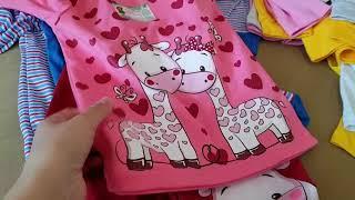 Ивановский трикотаж! Распаковка посылки из магазина Мариша! Детская одежда от производителя!