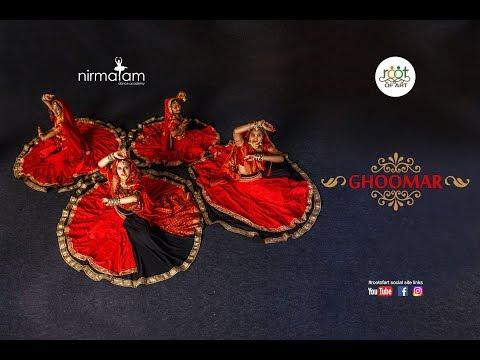 Ghoomar - Padmaavat   Dance Cover   Root Of Art   Nirmalam Dance Academy