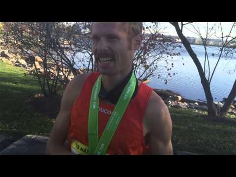 Jared Ward talks about 2016 US Olympic Marathon Trials