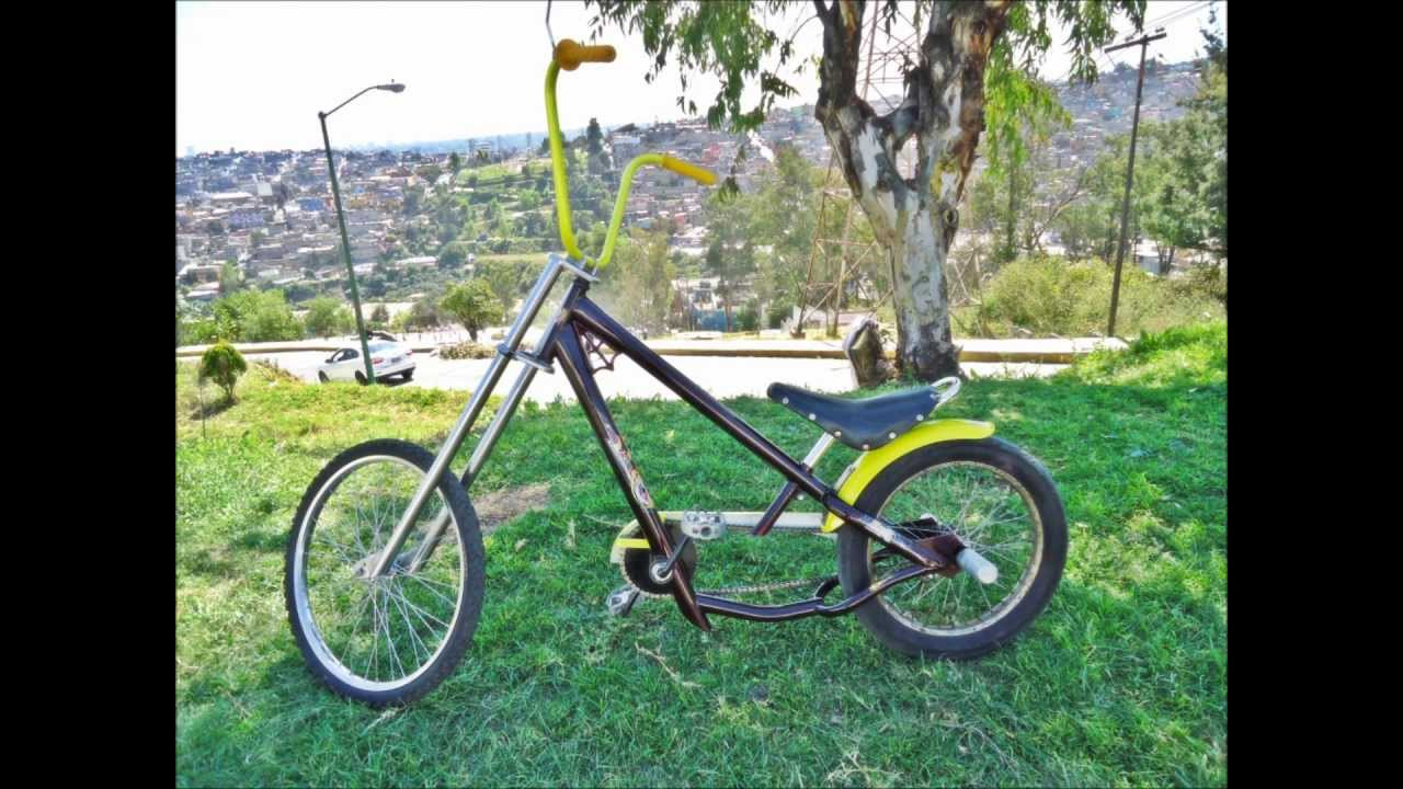 Bicicleta tipo chopper - YouTube