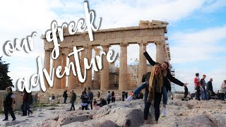 a weekend adventure in ATHENS, GREECE VLOG | Study Abroad Italy