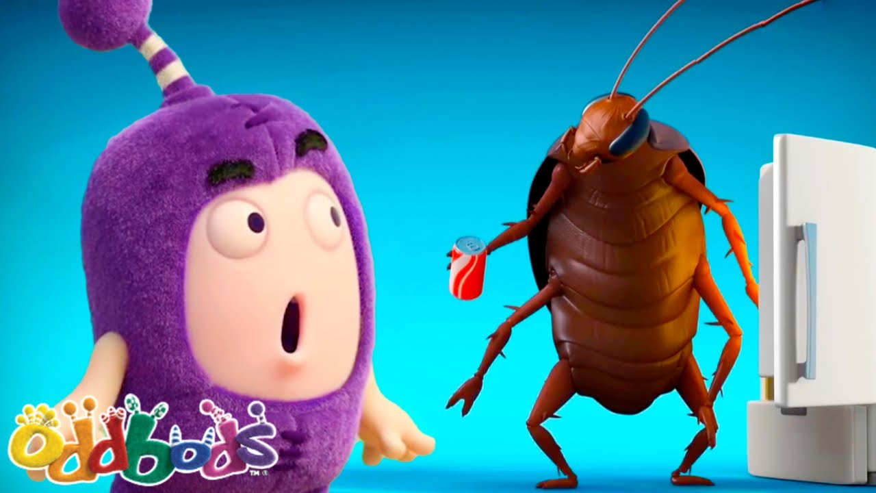 SHOO BUGS, SHOO! | Oddbods | Cartoons for Babies & Kids