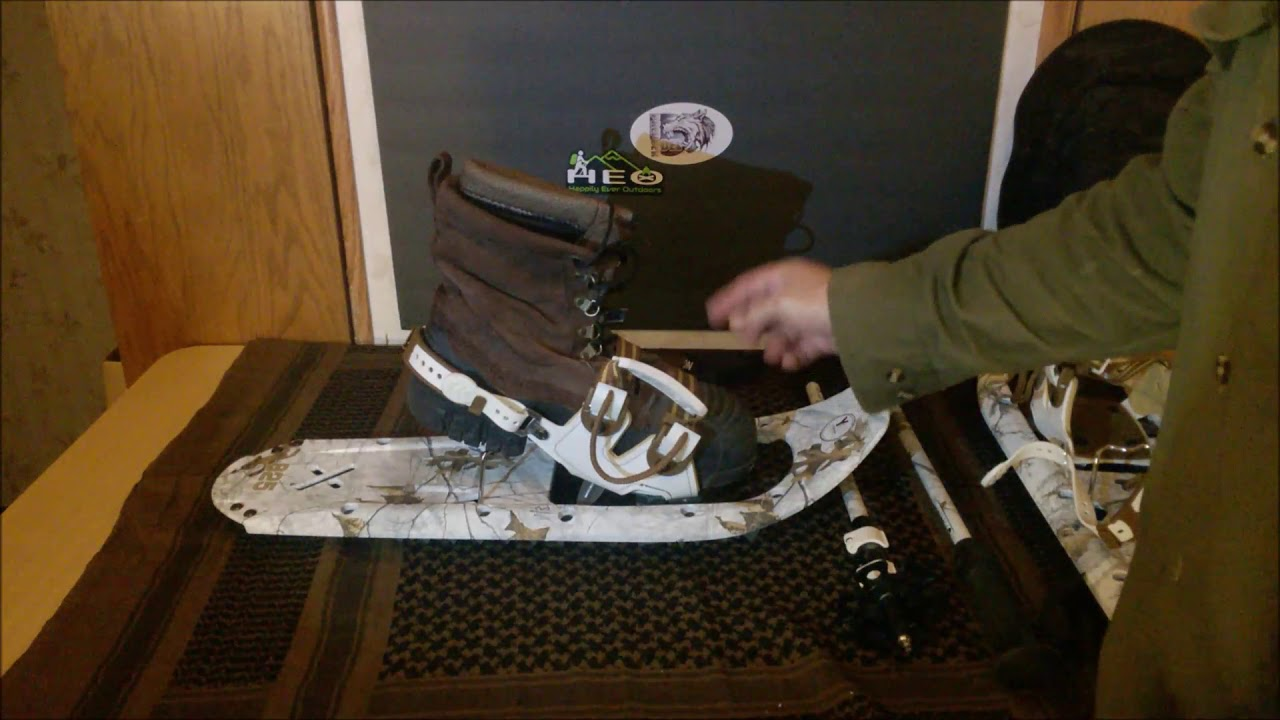 Yukon Charlie's Snowshoes & Trekking Poles in Realtree Xtra (Snow)