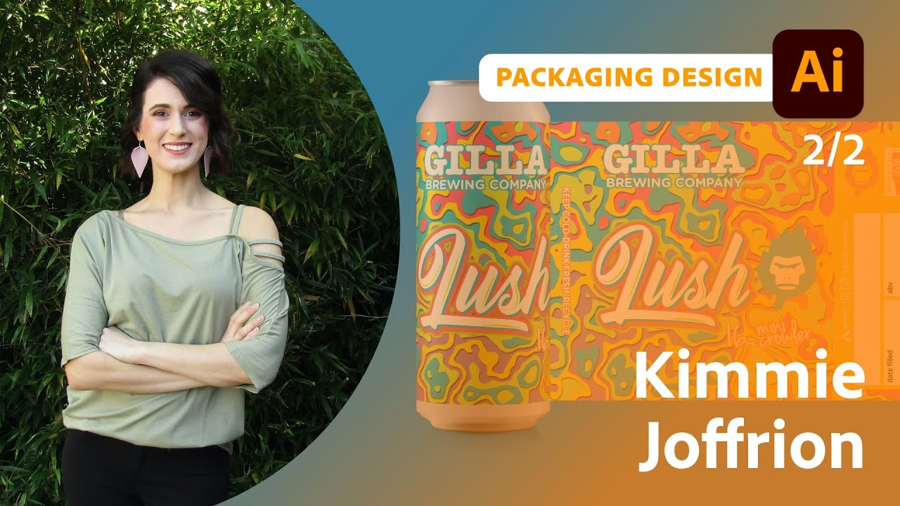 Packaging Design for a Local Brewery with Kimmie Joffrion - 2 of 2