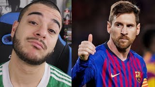 C'est Messi. (FC Barcelone 5-1 Lyon)