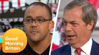 Is The English Flag Racist? | Good Morning Britain