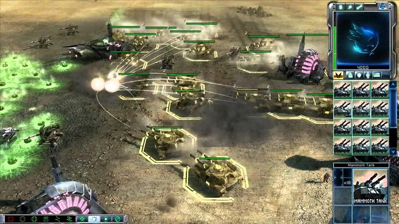 Command & Conquer 3 Tiberium Wars mod - Tiberian Dawn Trailer