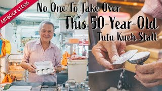 Dying Trade: 50-Year-Old Tutu Kueh Stall With No One To Take Over   Eatbook Stories   EP 2