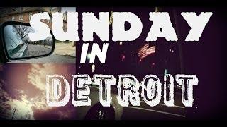 Жизнь в США: Дождливое Воскресенье в Америке #Detroit #Детройт