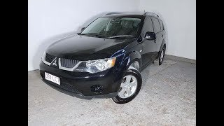 4x4 SUV Mitsubishi Outlander 5 Speed Manual 2008 Review For Sale