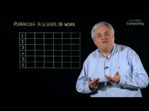 Planning A Scheme Of Work