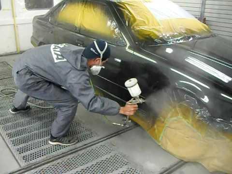 自動車塗装