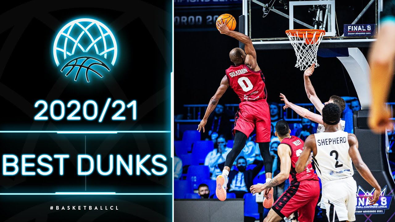SICK Dunks of the Basketball Champions League 2020/21 Season!
