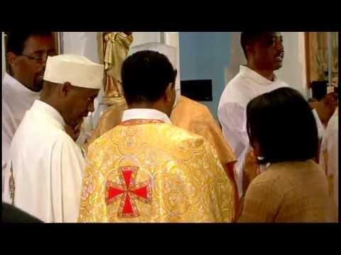 Divine Liturgy in Ge'ez for Fr. Tesfamariam Baraki's 40th Anniversary - Part 3
