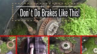 1996 Buick Park Avenue Catastrophic Front Brake Damage