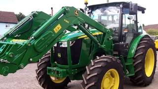 John Deere 5085M c/w JD H310 loader