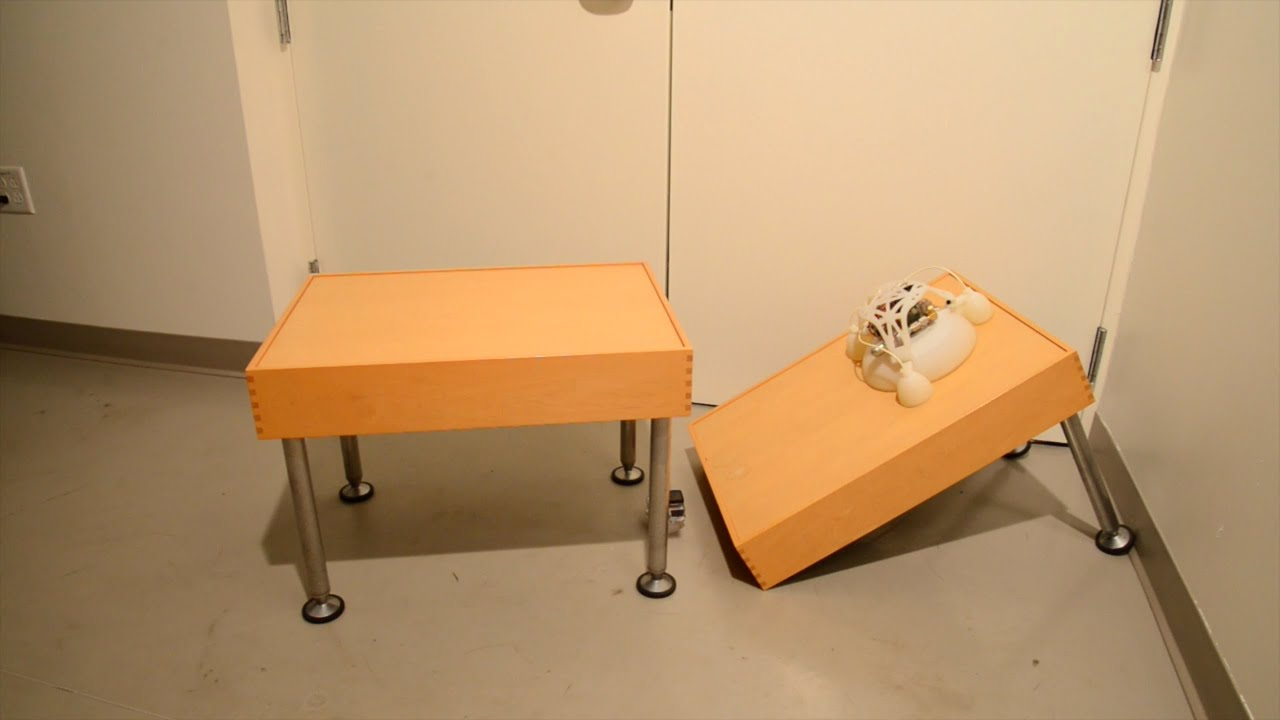 oscillator gets plushy robots to roll, undulate,