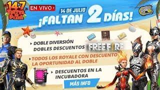 🔴 Faltan 2 Días para el Evento de Verano - Free Fire - Nuevo Cubo Mágico y Nuevos Cascos!!!