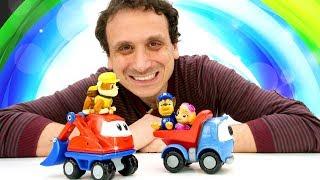 Asilo dei giocattoli. Paw Patrol episodi. Giochi per bambini
