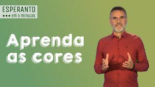 Esperanto – Aprenda as cores