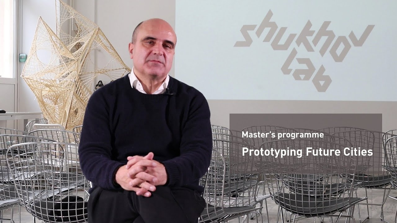 "Master's programme ""Prototyping future cities"""