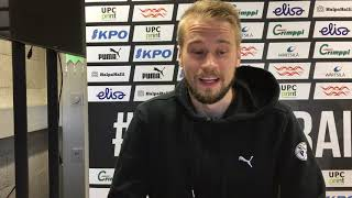 VPSTV: Juho Lähteen haastattelu Rops -ottelun alla