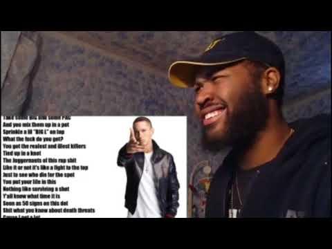 50 cent ft Eminem  Patiently Waiting  lyrics  REACTION