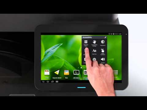 Samsung Smart Like on a Tablet from Samsung Copiers