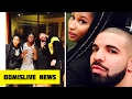 Nicki Minaj sits on Drake's LAP!!! Lil Wayne / Young Money Back Together Recording for MORE LIFE ?