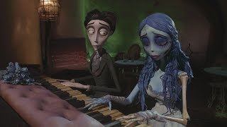 м/ф Труп невесты - Виктор и Эмили играют на пианино